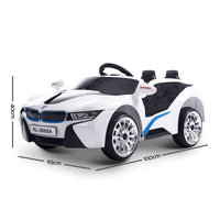 BMW i8 Car - White - Kids Ride On Cars