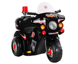 Police Cruise Motorbike - Kids Ride On Cars
