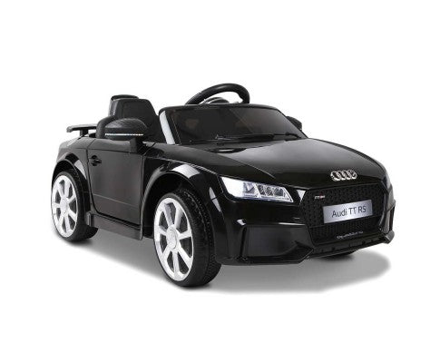 Audi TT RS Roadster Black - Kids Ride On Cars