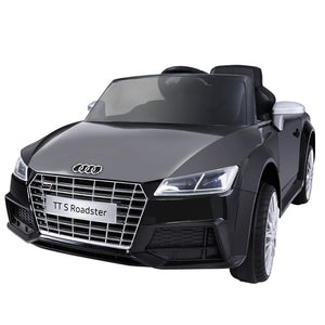 Audi Licensed Kids Ride On Cars Electric Car Children Toy Cars Battery Black - Kids Ride On Cars