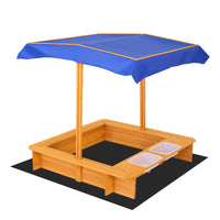 Keezi Outdoor Canopy Sand Pit