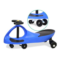 Kid's Ride On Wiggle Scooter - Blue - Kids Ride On Cars