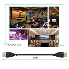 HDMI Extension Cable HDMI Cable HDMI To HDMI Extender Wire Gold Plated Male To Male Converter Connector For Laptop PS3 3D 1080P