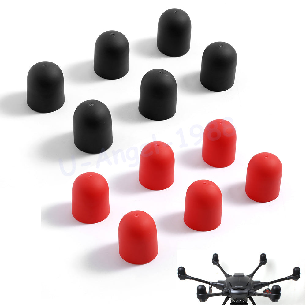 6Pcs Dust-proof Soft Motor Cap Protective Cover Case for YUNEEC Typhone Hexacopter H480 Drone Accessory