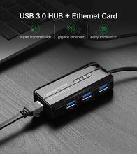 Ugreen USB 3.0 Ethernet Adapter USB 3.0 2.0 to HUB RJ45 Lan Network Card for Xiaomi Mi Box Nintendo Nintend Switch USB Ethernet