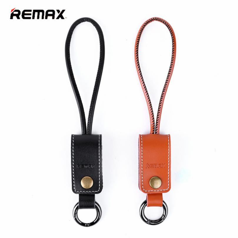 REMAX Brand Western Leather Reversible Micro USB Charging Data Cable For Cellphone Charger Cable Data Cable Retail Package XJ4.4