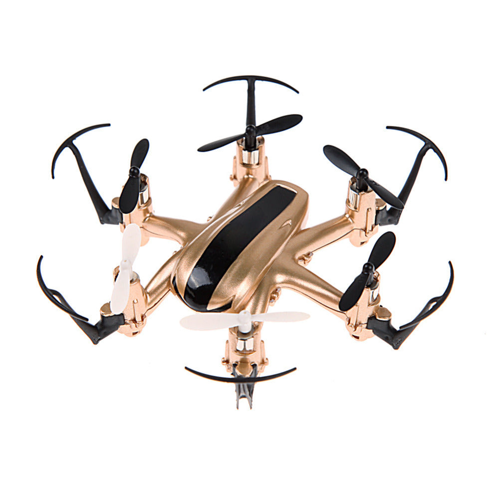 H20 2.4G 4 Channel 6-Axis Gyro Nano Hexacopter with CF Mode Return RC Quadcopters Min Drone Golden RC Helicopter Gift