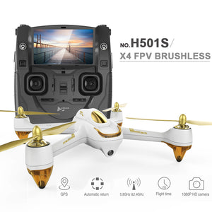 (Standard Edition) Hubsan X4 H501S FPV Quadcopter Drone with 1080P Camera GPS Follow Me & Return Home