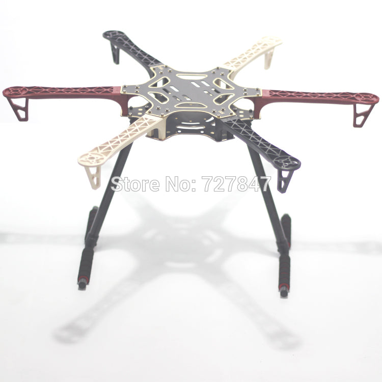 F550 550 mm Hexa-Rotor Air Frame FlameWheel Kit With Carbon Fiber Landing Gear for KK MK MWC MultiCopter Hexacopter