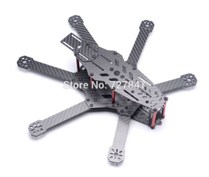 NEW RD290 Mini 290 290mm Hexacopter 6 Axles FPV Racer Pure Carbon Fiber