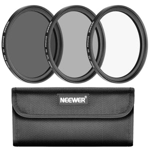 Neewer for DJI Zenmuse X5 X5R Camera/Inspire 1 PRO, RAW Quadcopter Filter Kit: UV+CPL+ND8 filter