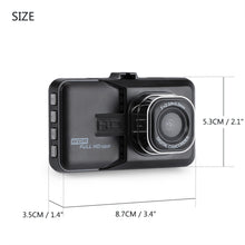 Vingtank 3 inch Dash Camera Car DVR Dash Cam Video Recorder HD 1080P Camcorder Night Vision Motion Detection Loop Recording