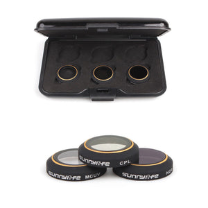 MMRC-UV MRC-CPL ND8 Camera Lens HD Filters For DJI MAVIC Pro Drone Camera RC Parts