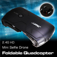 Foldable Quadcopter Mini Selfie Drone 2.4G HD WiFi Camera Headless FPV
