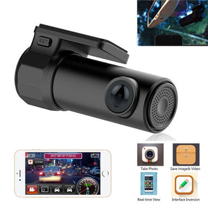 WIFI Hiden Car DVR Camera Full HD 1080P 170 Degree Wide Angle Monitor Night Vision