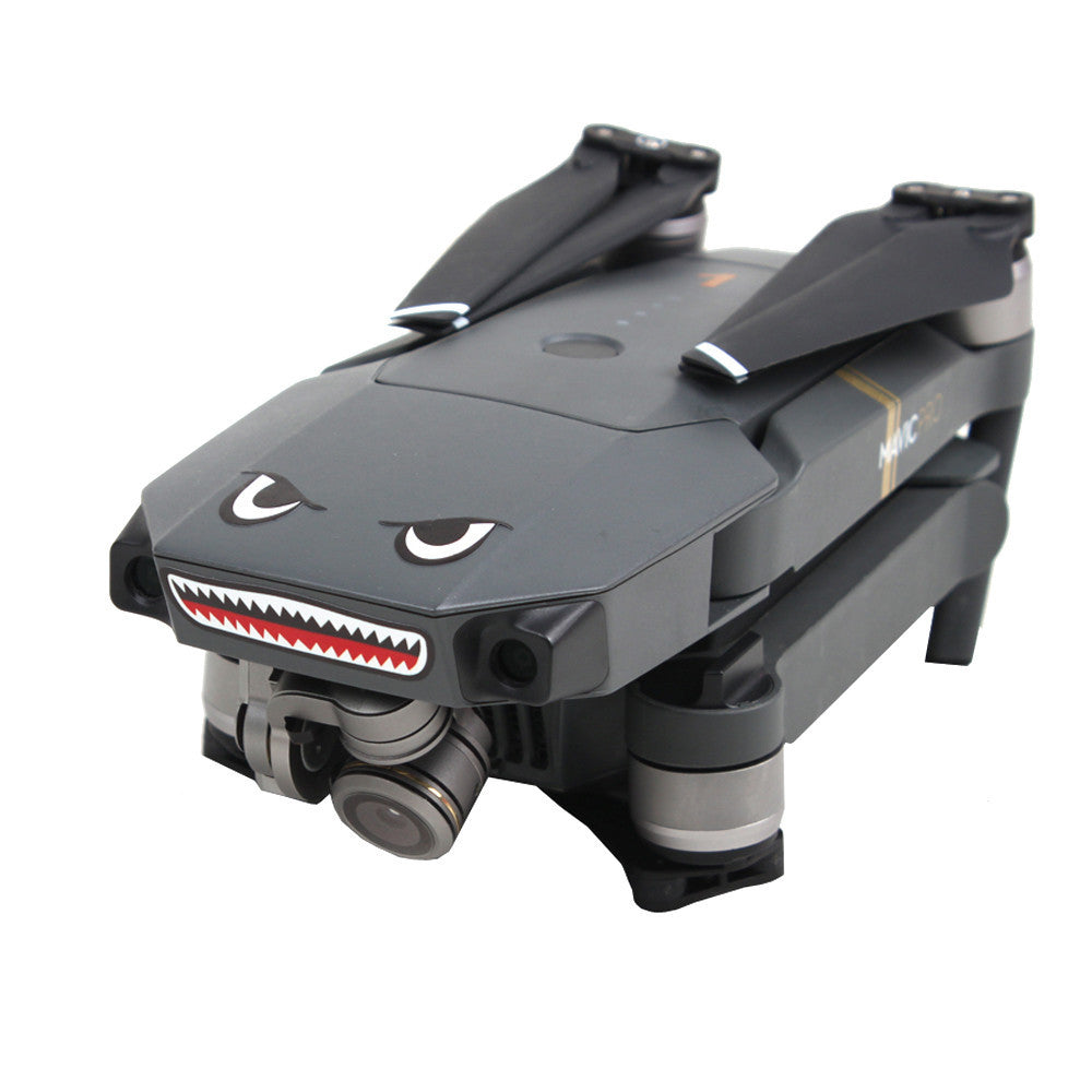 Shark decoration Waterproof Decal Skin Sticker for DJI Mavic Pro RC Drone