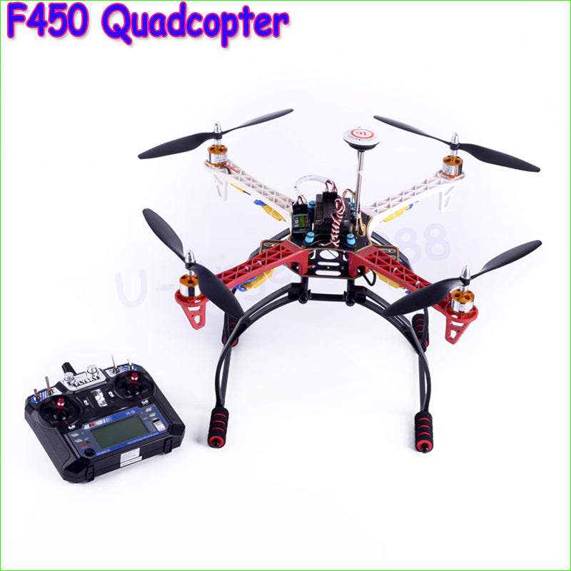 1pcs DIY RC F450 Quadcopter MultiCopter Axis Aerial Drones Frame+APM2.8 flight control + M8N GPS + motor / ESC ( Ready to fly )