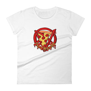 Pizzacore Women's Fitted T
