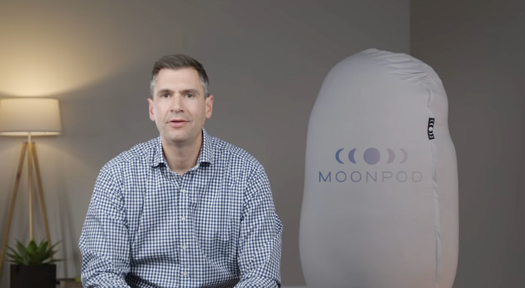 A bean bag from the Moon? The Moon Pod Review by The Sleep Sherpa