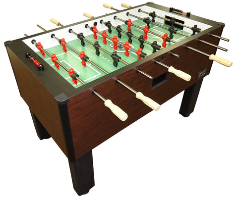 Shelti PRO Foos II deluxe Foosball table - SHELTI - luxebackyard