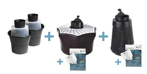 Biogents Indoor Outdoor Traps System Bundle Against Tiger Mosquitoes