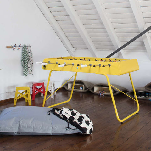 RS#3 Yellow Football Table by RS BARCELONA - RS BARCELONA - luxebackyard