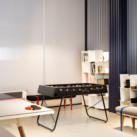 RS#3 Black Football Table by RS BARCELONA - RS BARCELONA - luxebackyard