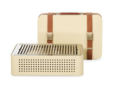 Mon Oncle Portable BBQ Grill v2 - Cream by RS BARCELONA - RS BARCELONA - luxebackyard