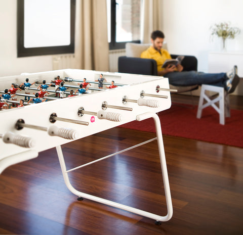 RS#3 White Football Table by RS BARCELONA - RS BARCELONA - luxebackyard