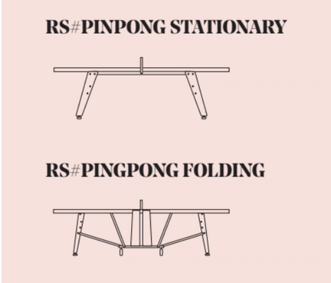 Replacement Net for RS#PingPong STATIONARY and FOLDING tables - By RS BARCELONA - RS BARCELONA - luxebackyard