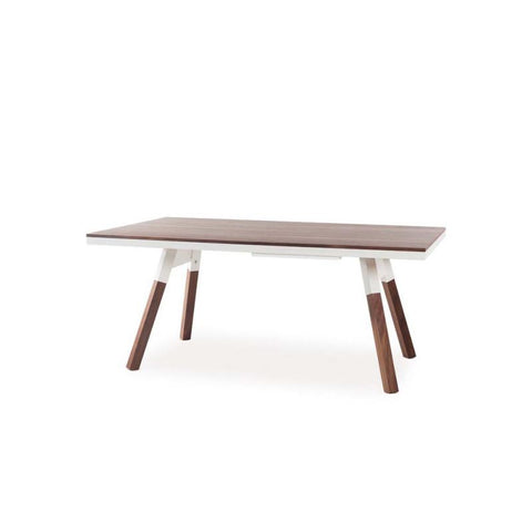 "You and Me ""Small"" Ping Pong Table - Walnut White by RS BARCELONA - RS BARCELONA - luxebackyard"
