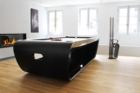The Blacklight - Design Billiard Table by Toulet - Toulet - luxebackyard