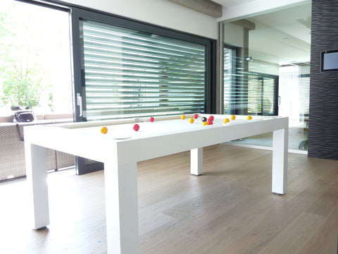 The Pearl - Design Billiard Table by Toulet - Toulet - luxebackyard