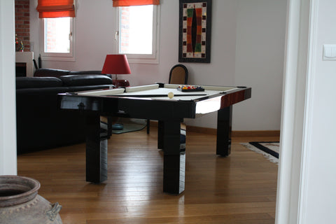 The Purity - Design Billiard Table by Toulet - Toulet - luxebackyard