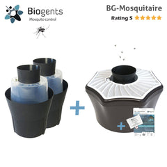 Biogents - Highly Effective Trap Against Host-Seeking Tiger Mosquitoes - BG-Mosquitaire 2+1 Bundle