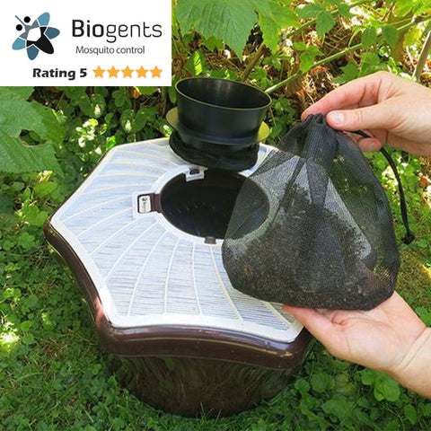 Pack of 3  BG-Mosquitaire Bundle for neighborhoods - Highly Effective Trap Against Host-Seeking Tiger Mosquitoes - Biogents - Biogents - luxebackyard