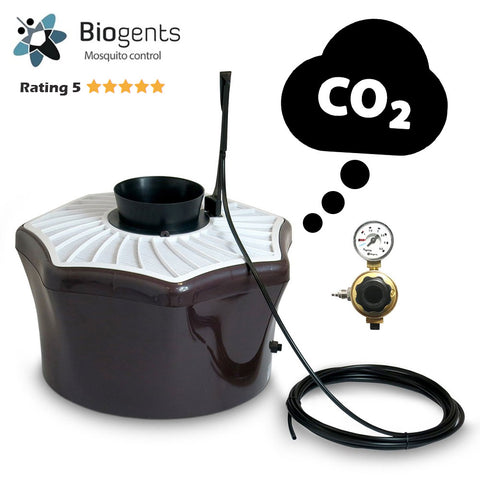 3 x BG-Mosquitaire CO2 Bundle sets for neighborhoods - Highly effective trap against a broad range of mosquito species - Biogents - Biogents - luxebackyard