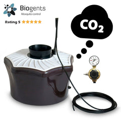 3 x BG-Mosquitaire CO2 Bundle sets for neighborhoods - Highly effective trap against a broad range of mosquito species - Biogents