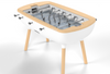 Image of The Pure White - Design Foosball table - Debuchy by TOULET - Debuchy by Toulet - luxebackyard
