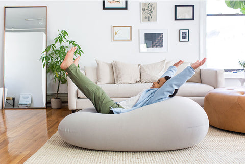 MOON POD - The most comfortable Bean bag - MOONPOD - luxebackyard