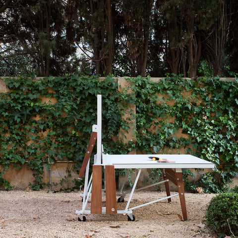 RS# Ping Pong Folding - White by RS BARCELONA - RS BARCELONA - luxebackyard