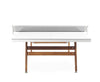 Image of RS# Ping Pong Stationary - White by RS BARCELONA - RS BARCELONA - luxebackyard