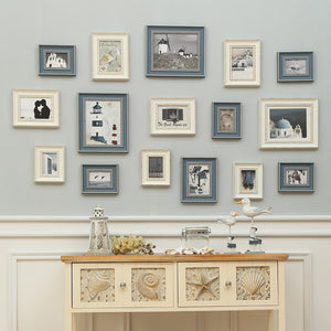 16 Piece Wall Hanging Vintage Photo Frame Decoration