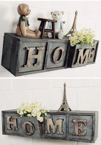 Vintage Wall Hanging Storage Box