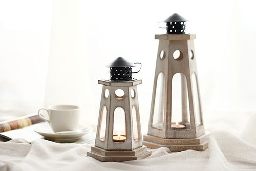 European Style Candle Lantern Set