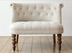 Elegant Traditional Style Love Seat or Chair