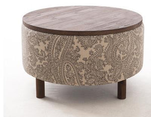 Multi-Functioning Designer Ottoman with Storage