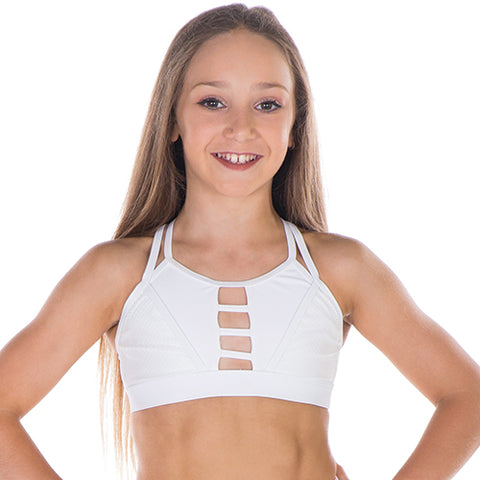 Girls Confident Crop Top