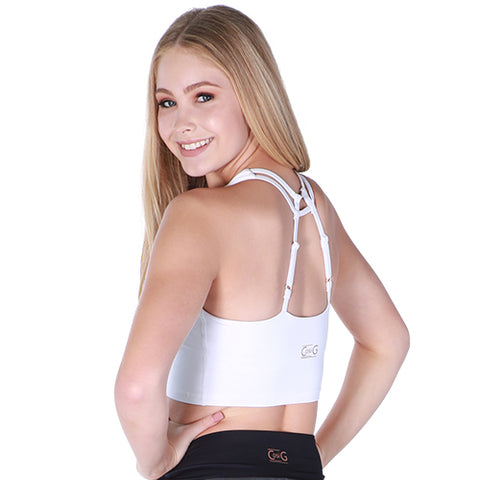 Girls Escaped Crop-Girls Dance Crops-CosiG Studiowear