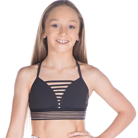Girls Fierce Crop-Girls Dance Crops-CosiG Studiowear